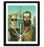 """AMERICAN GOTHIC"" by STEVE SIMPSON ( IRELAND ). 