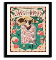 """COW ARE REALLY MEALTY"" by STEVE SIMPSON ( IRELAND ). 