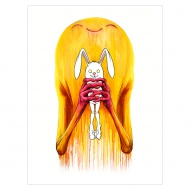 """BUNNYWITH A HAPPY NEW OWNER""