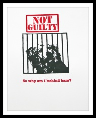 "CHARITY PRINT - ""Not Guilty"" Version 1 - 
