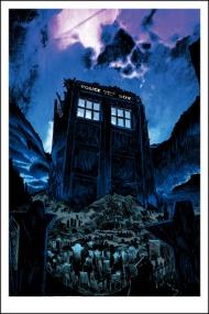 "Tim Doyle - ""The Fields of Trenzalore"" - Oversized Glow in the Dark Variant  $75.00 USD"