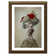 Rosalina by Kukula 12 x 17 Inches Archival Pigment Print on Fine Art Paper $75