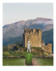 """Scott Listfield """"Castle"""" limited to only 35 copies signed and numbered 11"""" x 14"""" $34.95 unframed $134.95 framed"""