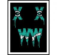 munch fiend print by xwwx