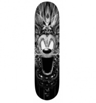 FANTASMALAND SK8 Nb3 designed by Nicolas Obery alias FANTASMAGORIK (support Plexi optional). High quality printing Limited to only 25 copies.  Size: 21 x 81 cm Copies digitally sign and numbered 1 to 25 to recto. $208