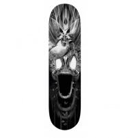FANTASMALAND SK8 Nb1 designed by Nicolas Obery alias FANTASMAGORIK (support Plexi optional). High quality printing Limited to only 25 copies.  Size: 21 x 81 cm Copies digitally sign and numbered 1 to 25 to recto. $208