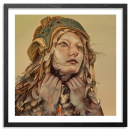 Dan Quintana Foil Edition Size:   50 12 x 12 Inches Archival Pigment Print on 310gsm Fine Art Paper  $ 75.00