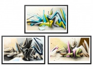 Waves by Daim  20 x 13 Inches Archival Pigment Print on 310gsm Fine Art Paper + 3 Print Set $100 to $250