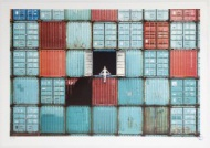JR - The Ballerina in Containers, Le Havre, France 40,5 x 29 in  1000,00 € ($1240.50)