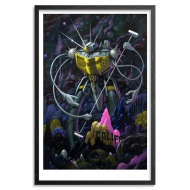 The Californian by Jeff Soto 24 x 36 Inches Archival Pigment Print on 310gsm Fine Art Paper $125