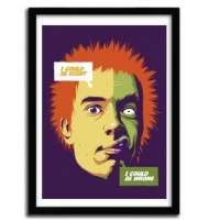 I COULD BE WRONG by  BUTCHER BILLY (BR ). Serie of 50 Prints with certificate of authenticity signed. $45