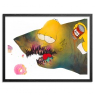 Cici N'est Pas Une Homer Simpson by Shark Toof