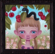 Cherries and Clones - Original Painting by Ana Bagayan
