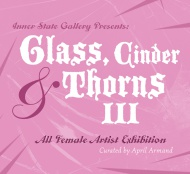 1xRUN and Inner State Gallery are proud to announce Glass, Cinder & Thorns III at Inner State Gallery. With a groundbreaking roster comprised entirely of female artists, the fairy-tale