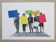 'colourPROTEST' - Anthony Zinonos
