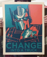 Change Into a Truck Metallic Ink