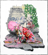 To continue to help aid the relief efforts in Nepal after it's disastrous earthquake, 25% of the proceeds from this sale will be again donated to the Shree Pashupatinath Foundation, USA Nepal Earthquake Victim Relief Fund.   Seventeen-color screen print on hand torn archival art paper. Each print is signed and numbered, with a thumb print on the back.   Untitled by Mr Brainwash Print Size: 36in. x 41.5in. Edition of 100 Price: $750