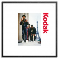 Run DMC - Paris - 1987 24 x 24 Inch Edition by Ricky Powell 24 x 24 Inches Archival Pigment Prints on 310gsm Fine Art Paper $300