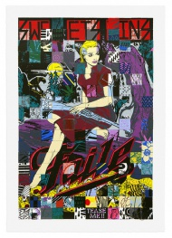 Sweet Sins Brooklyn 28 x 40 Inches 27 Color Silkscreen Print Edition of 500 310 gsm Coventry Rag (Deckle Edge) Signed, Stamped and Dated FAILE 2015 $ 500.00